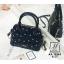 กระเป๋าสะพายกระเป๋าถือ แฟชั่นนำเข้าสไตล์คุณหนู AX-12363-BLU (สีน้ำเงิน) thumbnail 2