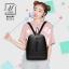 กระเป๋าสะพายเป้กระเป๋าถือ เป้แฟชั่นนำเข้าดีไซน์เก๋ส์ B68249-BLK (สีดำ) thumbnail 3
