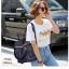 แบบขายดี ทรงสุดฮิต กระเป๋าเป้ผู้หญิงลายสก็อต MM264-น้ำเงิน (สีน้ำเงิน) thumbnail 5