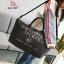 กระเป๋าแฟชั่นนำเข้า Style Victoria's secret BAI-201-BLK (สีดำ) thumbnail 1