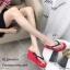 รองเท้าเตารีดคีบพอลแฟรง H001-แดง (สีแดง) thumbnail 1