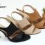 พร้อมส่ง รองเท้าส้นเข็มเปิดหน้ารัดท้ายโชว์ส้น 26-27-BLK [สีดำ] thumbnail 2