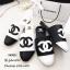 รองเท้าแตะวัสดุหนังนิ่มทรงสลิปเปอร์ KK8822-ดำ (สีดำ) thumbnail 2