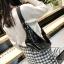 กระเป๋าสะพาย กระเป๋าคาดเอวกระเป๋าคาดอก แฟชั่นงานนำเข้าแบบคาดปักเลื่อม MB18-01206-BLK [สีดำ] thumbnail 2