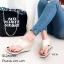 รองเท้าเตารีด แบบคีบ mcm 915-78-GLD (สีทอง) thumbnail 3