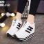 รองเท้าผ้าใบสีขาว ST8029-WHI thumbnail 2