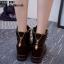รองเท้าผ้าใบสีดำ ST01-BLK thumbnail 4