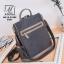กระเป๋าเป้แฟชั่นงานนำเข้าทรงสุดฮิต สไตล์สุดฮิป MB18-01804-GRY (สีเทา) thumbnail 2