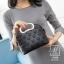 กระเป๋าสะพายกระเป๋าถือ ดีไซน์สุดเก๋ส์ นำเข้า 12300-BLK (สีดำ)