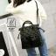 กระเป๋าสะพายกระเป๋าถือ แฟชั่นนำเข้าแบรนด์ BEIBAOBAO ดีไซน์เก๋ส์ BC327-BLK [สีดำ]