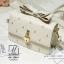 กระเป๋าสะพายกระเป๋าถือ แฟชั่นนำเข้าแบรนด์ axixi แต่งมุก AX-12461-CRM (สีครีม) thumbnail 3