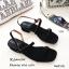 รองเท้าแตะ2สายรัดส้น 1173-ดำ (สีดำ) thumbnail 3