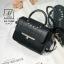 กระเป๋าสะพายกระเป๋าถือ แฟชั่นนำเข้าสไตล์คุณหนู AX-12343-BLK (สีดำ) thumbnail 1