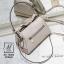 กระเป๋าสะพายกระเป๋าถือ แฟชั่นนำเข้าฉลุลายแต่งโบว์สุดน่ารัก AX-12283-CRM (สีครีม) thumbnail 4
