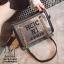 กระเป๋าแฟชั่นงานนำเข้าทรงยอดฮิตปักเลื่อมวิ๊บวับ MB18-01604-CHAMP (สีแชมเปญ)