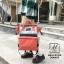 กระเป๋าเป้แฟชั่นงานนำเข้าสไตล์แบรนด์ดัง MB18-01904-ORA (สีส้ม)