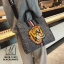 กระเป๋าสะพายกระเป๋าถือ แฟชั่นงานนำเข้าใบใหญ่สไตล์แบรนด์ดัง MB18-01401-BLK-WHT [สีดำ/ขาว] thumbnail 2