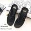 รองเท้าแตะเพื่อสุขภาพสีดำ คีบ YT122-ดำ thumbnail 1