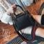 กระเป๋าแฟชั่นนำเข้าดีไซน์สุดเก๋ส์ B12019-BLK (สีดำ) thumbnail 3