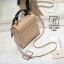 กระเป๋าสะพายกระเป๋าถือ แฟชั่นนำเข้าทรงสี่เหลี่ยมสไตล์เกาหลี AX-12394-PNK [สีชมพู] thumbnail 5