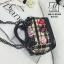 กระเป๋าแฟชั่นงานนำเข้าดีไซน์เก๋ส์สไตล์แบรนด์ดัง MB18-02504-BLK (สีดำ) thumbnail 3