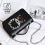 กระเป๋าสะพายกระเป๋าถือ แฟชั่นนำเข้าแบรนด์ BEIBAOBAO B10065-BLK (สีดำ)