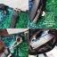 กระเป๋าสะพายกระเป๋าถือกระเป๋าปักเลื่อม แฟชั่นงานนำเข้าปักเลื่อมวิ๊บวับ MB18-00905-GRN [สีเขียว] thumbnail 5