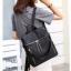 กระเป๋าเป้ผู้หญิงสะพายแบบน่ารัก สะพายได้หลายแบบ BAG-077-ดำ (สีดำ) thumbnail 2