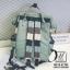 กระเป๋าเป้แฟชั่นงานนำเข้าสไตล์แบรนด์ดัง MB18-01904-LT_GRN (สีเขียวอ่อน) thumbnail 4