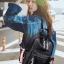 แบบมาใหม่ ทรงสุดฮิต กระเป๋าเป้ผู้หญิงหนัง pu ดีไซน์สุดเก๋ BAG-062-ดำ (สีดำ) thumbnail 5