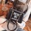 กระเป๋าแฟชั่นงานนำเข้าทรงยอดฮิตปักเลื่อมวิ๊บวับ MB18-01604-BLK (สีดำ) thumbnail 4