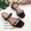 รองเท้าแตะคาดlv B4-382-ดำ (สีดำ) thumbnail 1