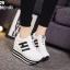 รองเท้าผ้าใบสีขาว ST8029-WHI thumbnail 1