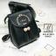 กระเป๋าสะพายเป้กระเป๋าถือ เป้แฟชั่นนำเข้าดีไซน์สุดน่ารัก AXI-A12315-BLK (สีดำ) thumbnail 3