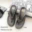 รองเท้าแตะเพื่อสุขภาพสีเทา คีบ YT122-เทา thumbnail 1