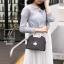 กระเป๋าแฟชั่นนำเข้าดีไซน์เก๋ส์ AX-12299-BLK (สีดำ) thumbnail 2