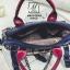 กระเป๋าแฟชั่นงานนำเข้าดีไซน์เก๋ส์สไตล์แบรนด์ดัง MB18-02504-BLK (สีดำ) thumbnail 4