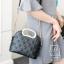 กระเป๋าสะพายกระเป๋าถือ ดีไซน์สุดเก๋ส์ นำเข้า 12300-BLK (สีดำ) thumbnail 2