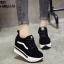 รองเท้าผ้าใบสีดำ งานนำเข้า100% ST921-BLK thumbnail 2