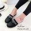 รองเท้าแตะทรงสลิปเปอร์ เปิดส้นgivenchy G611-ดำ (สีดำ) thumbnail 5