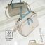 กระเป๋าสะพายกระเป๋าถือ แฟชั่นนำเข้าสไตล์คุณหนู AX-12342-CRM (สีครีม) thumbnail 2