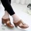 รองเท้าสุขภาพสีน้ำตาล พื้นนุ่ม LB-10180-น้ำตาล thumbnail 1