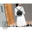 กระเป๋าเป้แฟชั่นนำเข้าแบรนด์ axixi ทรงสุดน่ารัก AX-12478-BLK (สีดำ) thumbnail 5