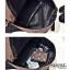 แบบมาใหม่ กระเป๋าเป้ผู้ชายหนัง pu BAG-072-น้ำตาล (สีน้ำตาล) thumbnail 5
