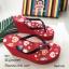 รองเท้าเตารีดคีบพอลแฟรง H001-แดง (สีแดง) thumbnail 2