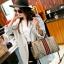 กระเป๋าถือทรงหมอนคาด แถบสี3Tone EMM-0001-GLD (สีทอง) thumbnail 2
