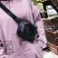กระเป๋าแฟชั่นงานนำเข้าแบบคาดสุดฮิป MB18-01806-BLK (สีดำ) thumbnail 5