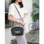 กระเป๋าสะพายกระเป๋าถือ แฟชั่นนำเข้าสไตล์คุณหนู AX-12343-BLK (สีดำ) thumbnail 5