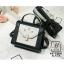 กระเป๋าสะพายกระเป๋าถือ แฟชั่นนำเข้างานเรียบหรูมากก... AX-12361-BLK (สีดำ) thumbnail 2