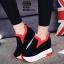 รองเท้าผ้าใบสีแดง ST1618-RED thumbnail 2